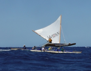 'Aukai o Maui (Team Wow) on way to Hana from Hawaii Island