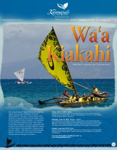 Wa'a Kiakahi '13