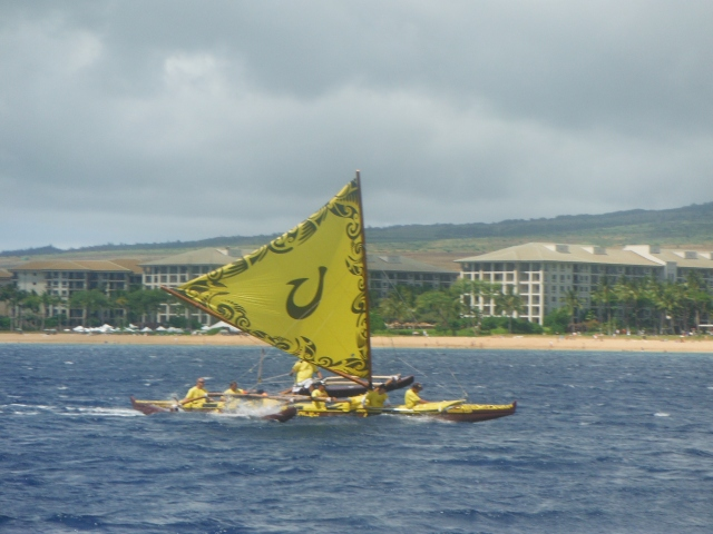 Racing to Kaanapaili Beach