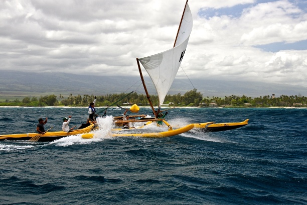 Hui Nalu Wins!,  off Kanaha Beach Park, Maui 5:3:15 Photo by Gloria Reed, (do not copy without permission)