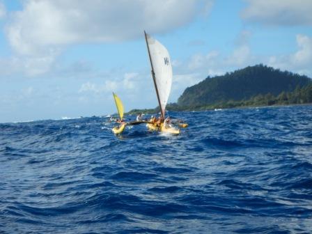 Hui Nalu Canoe Club Hana Maui 5/1/16 Photo by Spencer Boomer
